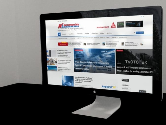 AI magazine online site